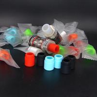 Кремния капельного советы для TFV8 бак испаритель тест мундштуки для электронных сигарет Fit 510 форсунки больше цветов с индивидуальной упаковкой