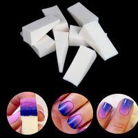 Atacado-24pcs New Woman Salon Prego Esponjas Stamp Stamping Ferramenta de Transferência de polonês DIY para acrílico UV Cores Gel Manicure Acessório