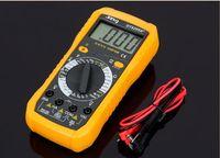 뜨거운 DT9205A 휴대용 LCD 스크린 디지털 절연 저항 멀티 미터 AC / DC 볼트 전류 미터 가정용 전기 문제 해결을위한