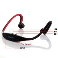 YENI S9 Spor Kablosuz Bluetooth 3.0 Kulaklık Kulaklık kulaklık için ip 6/5/4 galaxy S5 / S4 / 3 Android ile mikrofon