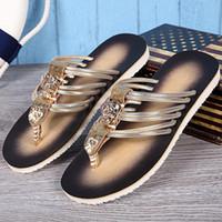 디자인 새 남성 패션 비치 샌들 플립 플랍 스트 라이프 여름 남성 캐주얼 샌들 플랫 야외 활주로 테니스 신발 샌들 남성 큰 Size46