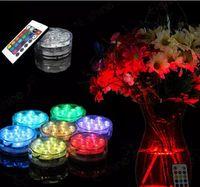 LED-Blumenteelicht der versenkbaren Kerze blinkendes wasserdichtes Hochzeitsfestvase-Dekorationslampenhuka shisha Zusätze