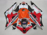Kit regalo 3 carenature Hot ABS nuovo caldo 100% per Honda CBR600R F5 07 08 CBR600 600RRF5 07 08 carrozzeria set nice Nero Rosso