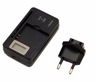 Универсальный интеллектуальный ЖК-индикатор зарядное устройство для samsung GALAXY S4 I9500 S3 I9300 Примечание 3 S5 с выходом usb зарядка США EU PLUG 2017