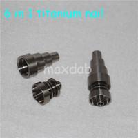 Titanium Dab Prego Universal 6 em 1 universal Dab Rig Prego Masculino Feminino unhas frete grátis