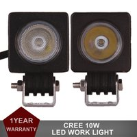 2pcs 10W Offroad LED Arbeits-Licht-Auto-SUV LKW-Motorrad-12V 24V CREE CHIPS Scheinwerfer AWD 4WD ATV Trailer Fahrrad-Nebel-Lampe