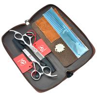 5.5 дюймов Meisha профессиональные парикмахерские ножницы набор для стрижки волос ножницы салон волос истончение ножницы Япония 440c парикмахерская инструмент, HA0097