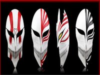Yüksek kaliteli reçine Cosplay maske Komik ve animasyon ölüm Kurosaki Ichigo Hollowification Maske