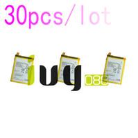 30 adet / grup 2900 mAh LIS1593ERPC Için Yedek Şarj Edilebilir Li-Polimer Pil Z5 E6653 E6683 E6603 E6883 E6633 Piller Batteria ...