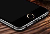 Alüminyum Metal Halka Dokunmatik Kimliğin Ev Anahtar Düğme Sticker Koruyucu iPhone için 7 / 6S / 6 / 6S / 6 7 Artı, SE / 5S ile Parmak İzi Kimlik Fonksiyonu