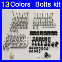 Fairing bolts full screw kit For YAMAHA FZR250R 86 87 88 89 ...
