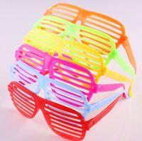 Novo Melhor preço 500 pçs / lote Óculos Obturador Óculos de Obturador Completo Óculos De Sol De Vidro máscaras de moda para o Clube de festa óculos de sol frete grátis