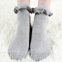 Japanese White Lolita Socks With Lace Lovely Sock Cute Ladie...