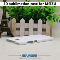 30 stks Nieuwe Collectie voor Meilan 5 Meizu Pro 6 Plus 3D Sublimatie Case 3D Lege Cover voor Meilan MX6 White Case