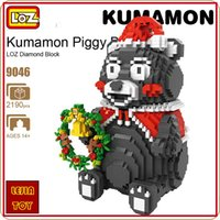 LOZ ideas Diamond Block Kumamon Piggy Bank Model Building Ki...