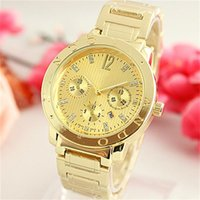 Fashion Rhinestones inlay scale dial Quartz Watches With cal...