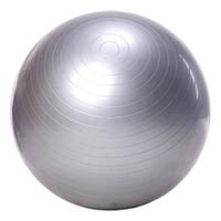 Gros- exercice balle yoga balle libre pompe- Burst Balles Fitness résistant pour le yoga Pilaties Abs et de base Workouts (gris 65 Diamètre)