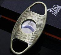좋은 품질 창조적 인 디자인 두 손가락 스트레치 타입 시가 커터 시가 가위 칼 시가 액세서리 도구