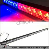 High Power 48 LED Strobe Warning Light 1PC 3W Red Blue LED Polisman Brandman VARNING Lampa Nödlampa Fri frakt