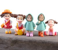 5sets(6pcs set) Kawaii Zakka Run Act Loving Girl Raincoat Xi...