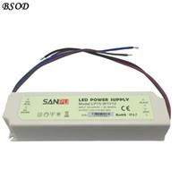 SANPU 70W водонепроницаемый светодиодный источник питания 12 В / 24 В постоянного тока драйвер IP67 белый пластиковый корпус газа трансформатор LP75-W1