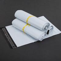 Neue Ankunft Weiße Mail-Taschen Hohe Qualität Poly Selbstsieger Postsack Kunststoff Umschlag Kurier Postleitzahl Mailer Express-Versandtasche 17 * 29cm