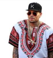 대시키 오돔 통기성 남성용 짧은 t- 슬리브 빅 사이즈 프린트 린넨 티셔츠 에스닉 풍 아프리카 패션 티셔츠