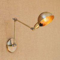 Art Deco Retro Loft Style Bronze Wall Lamps Creative Design ...