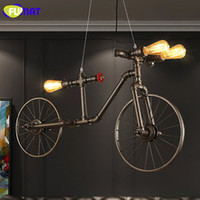 FUMAT Nordic Loft Water Pipe Light Iron Retro Pendant Light ...