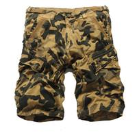 5f2fcb6644 2017 New Summer Men Casual Shorts Men Fashion Camo Cargo Shorts Military  Style Camouflage Shorts Men Pants Big Size