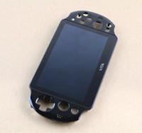 PS Vita 2000 PSV2000 için Dokunmatik Ekran Dijital Montajlı Yedek Siyah Orijinal LCD Ekran