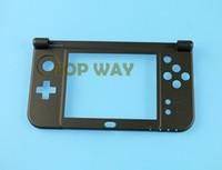 Per NEW 3DS XL LL Nuovo 3DSXL 3DSLL Bottom Down Frame centrale Custodia Cover Cover per la sostituzione