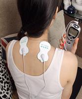 600pcs / lot 전극 패드 백라이트 십센트 침술 디지털 치료 기계 건강 패드 마사지 통증과 마음 긴장