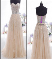 Free Shipping cocktail Sequins Long Formal Prom Dress Party ...