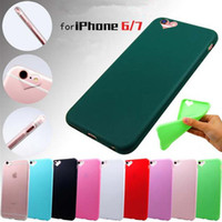 Para iPhone7 Além disso iPhone6 / 6s iPhone6s Além disso iPhone5 pacote em forma de coração suave silicone Caso doce cor de telefone celular ultra-fino