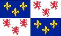 Франции, регион Пикардия флаг 3 фута x 5 футов полиэстер баннер летать 150* 90 см пользовательские флаг
