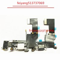 10pcs High Quality For Iphone 5s Charger Dock USB Charging Port Flex Cable With Headphone Jack