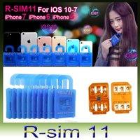 افتح بطاقة sim SIM SIM 11 RSIM11 r sim11 rsim 11 لـ iPhone 5 6 7 6 6 plus بالإضافة إلى iOS 7 8 9 10 ios7-10.x iphone7 CDMA GSM WCDMA SB AU SPRINT 3G 4G