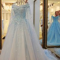 Nuovo stile migliore abito da sposa di vendita 2021 Pizzo Abiti da sposa lungo Vintage Style Appliques in rilievo Paillettes Wedding Gowns Corte dei treni d'epoca