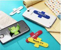 جودة عالية مصغرة جميلة سيليكون تاتش يو حامل الهاتف المحمول حامل للهواتف المحمولة 5S فون سامسونج