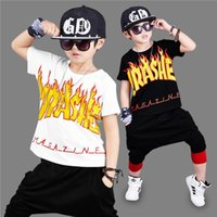 2017 Fashion Children' s clothes boy kit summer new hip-...