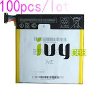 100pcs / lot 3950mAh C11P1303 Batterie Pour ASUS Google Nexus 7 II 2 2ème ME571 ME571K ME571KL K008 K009