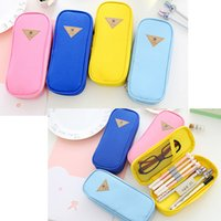 (4 Colors) Multi Functional Canvas Pencil Case Pen Cosmetic ...