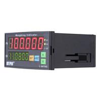Freeshipping цифровой контроллер взвешивания тензодатчики индикатор 1-4 тензодатчик входные сигналы 2 релейный выход 6 цифр светодиодный дисплей