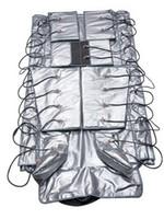 3 in 1 EMS Elektrische Muskelstimulation Fern Infrarotluftdruck Pressotherapie Lymphdrainage Hitze Sauna Decke Detox Body Slimming Maschine
