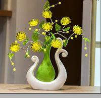 Moderne Glück Vögel 15 Formen Keramik Vase für Home Decor Tabletop diese Pirce ist für eine Vase und Blumen zusammen