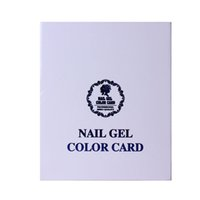 Wholesale- 120 Colors Nail Color Card Chart Nail Gel Polish ...