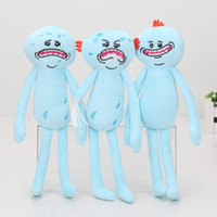 24cm Rick and Morty Happy & Sad Meeseeks Stuffed Doll Plush ...