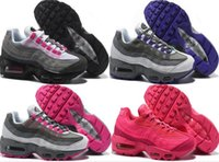 2017 newest pink Running Shoes womens Air Cushion 95 Sneaker...