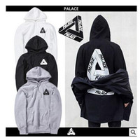Palace Hoodie Homens Striped Classic Triangle Sweatshirt Mulheres Skateboards Marca Hip Hop Slim Hoodies New London New York Casual